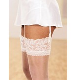Aristoc 10D. Bridal Stockings with Lace Top