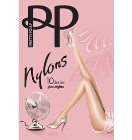 "Pretty Polly 10D. ""Nylons"" tights/ glans panty"
