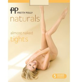 "Pretty Polly 5D. ""Naturals"" Almost Naked zomer Tights"