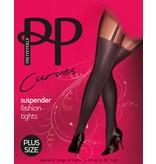Pretty Polly 60D. Suspender Tights