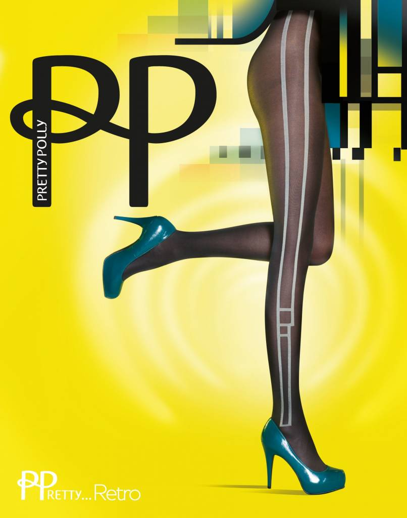Pretty Polly Pretty Stylish Side Pannel Tights
