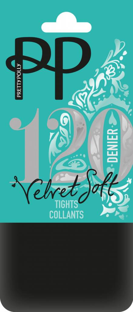 Pretty Polly 120D. Velvet Soft Opaque Panty