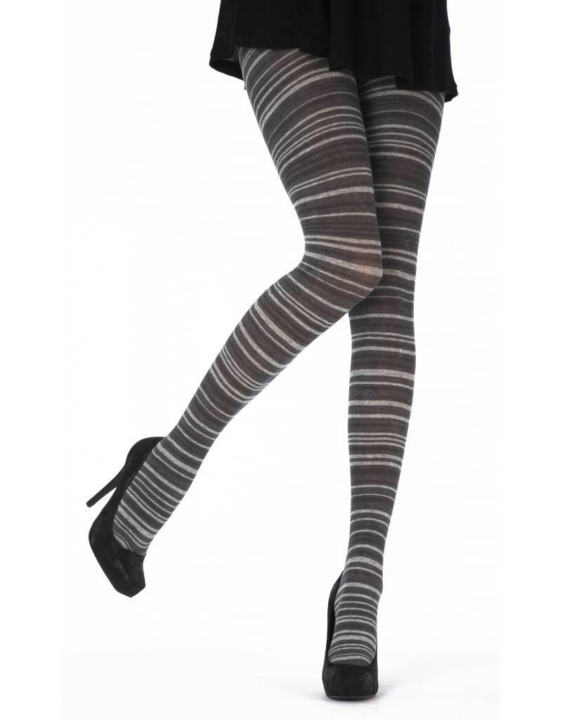 Pretty Polly Graduated Stripe Opaque Tights