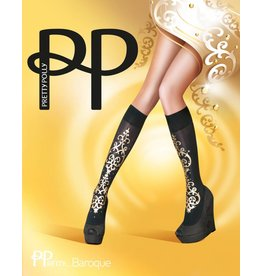 Pretty Polly Baroque Embellished Kneehighs