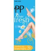 Pretty Polly 15D. Comfort Top Kneehighs (3 paar)