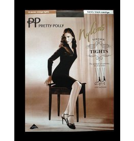"Pretty Polly 10D. ""Nylons""glans naad panty met pendelhiel"