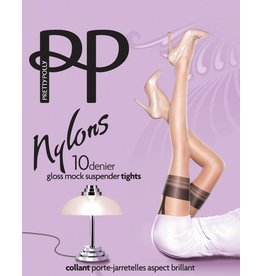 "Pretty Polly 10D. ""Nylons"" Suspender panty"