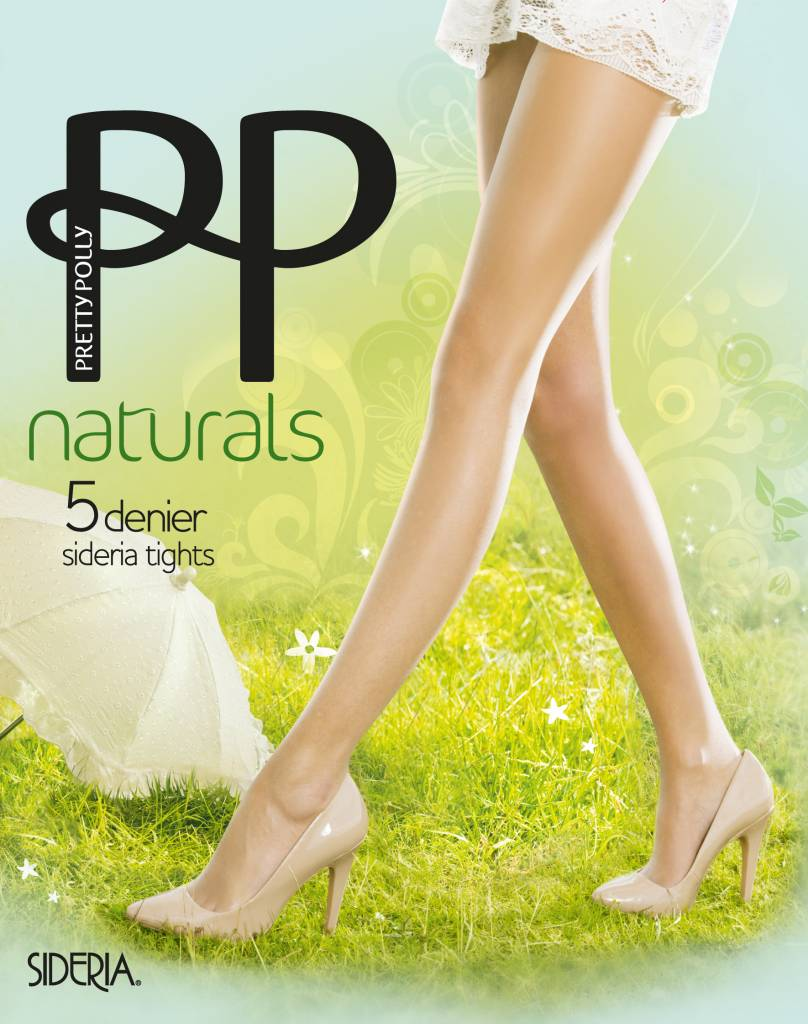 "Pretty Polly Zomer panty 5D. ""Naturals"" met Canebo Sideria garen"