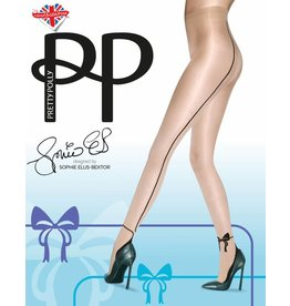 Pretty Polly Bow Backseam Tights
