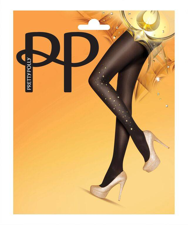 Pretty Polly Gold Sparkle Tights