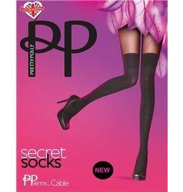 Pretty Polly Cable Secret Tights