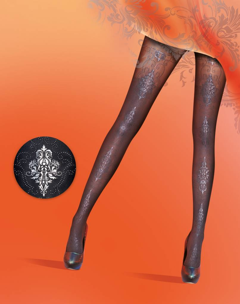 Pretty Polly Baroque Print Tights