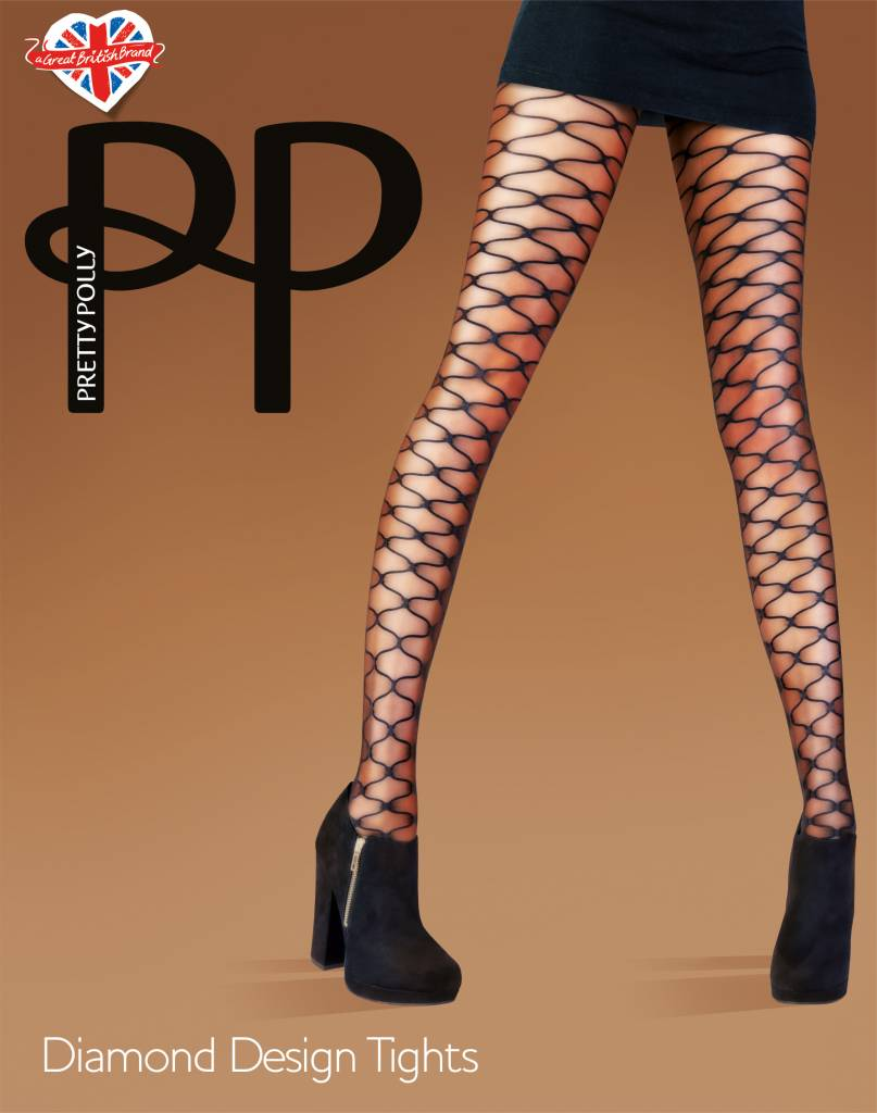 Pretty Polly Diamond Design Tights