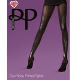 Pretty Polly Geo Shine Print Tights