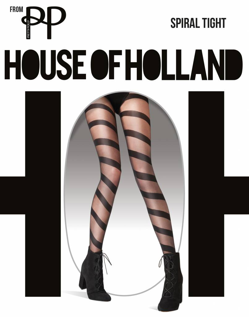 House of Holland Spiral Tights