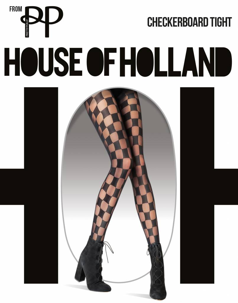 House of Holland Checkerboard Tights