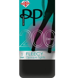 Pretty Polly 200D. Fleecy Tights