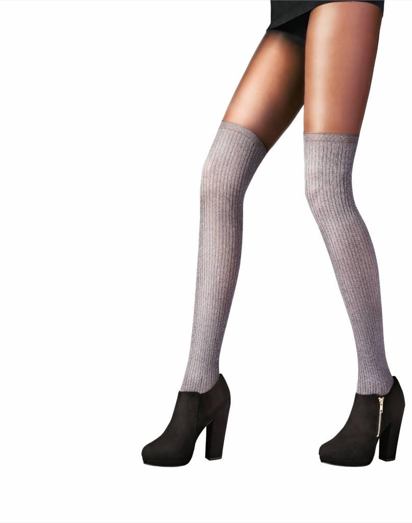 Pretty Polly Marl Secret Socks Tights