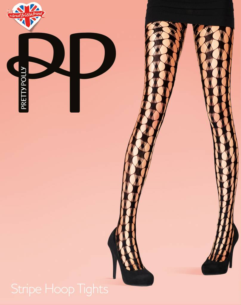 Pretty Polly Stripe Hoop Net Tights