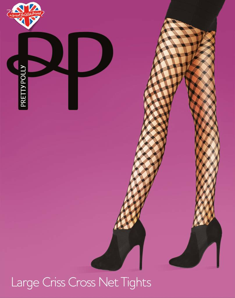 Pretty Polly Large Criss Cross Net Tights
