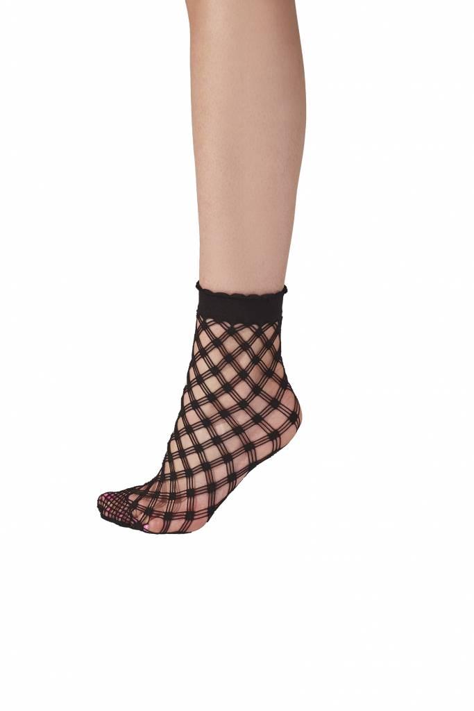 Pretty Polly Cris Cros Net Anklet Socks