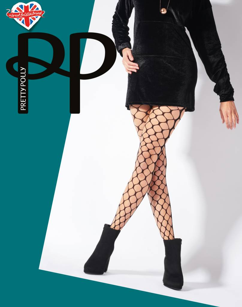 Pretty Polly Very Large Net Tights