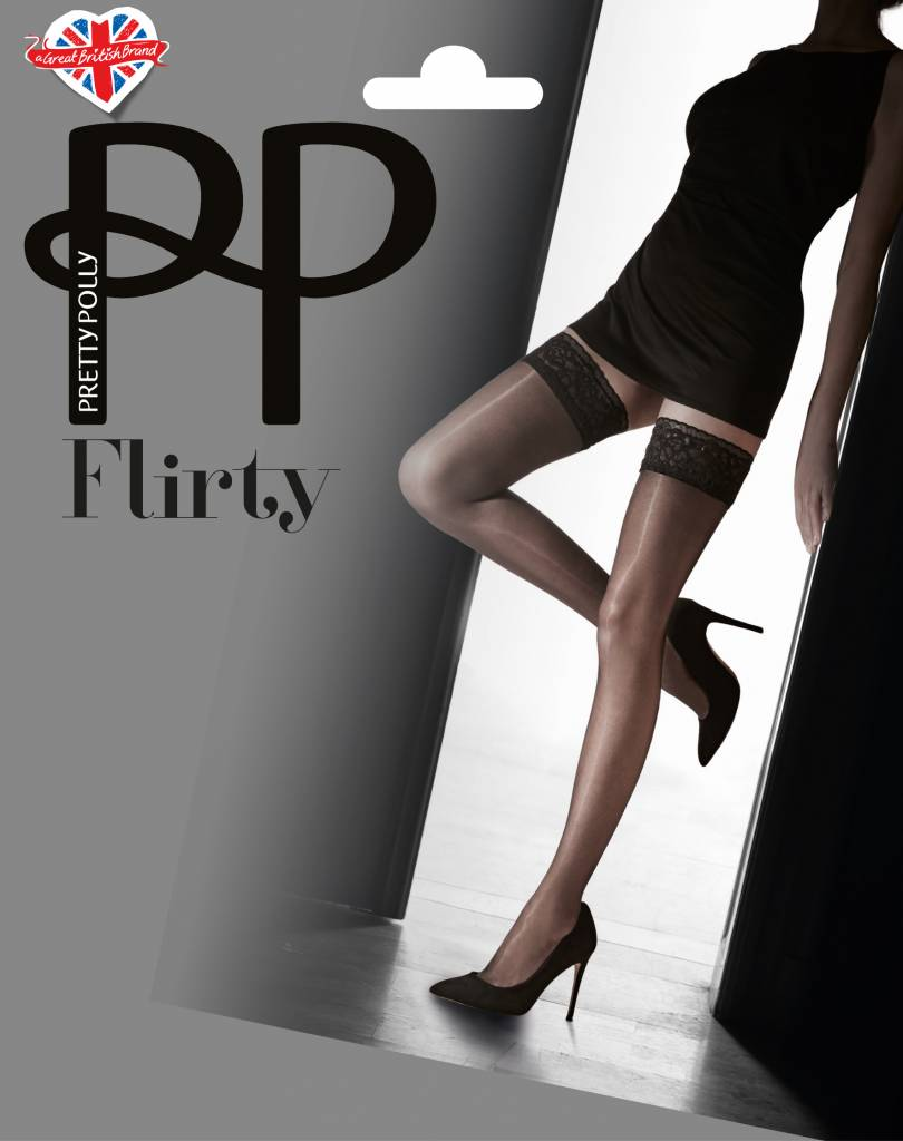 Pretty Polly Flirty Lace Top Hold Up