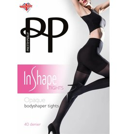 Pretty Polly Opaque Bodyshaper Tights