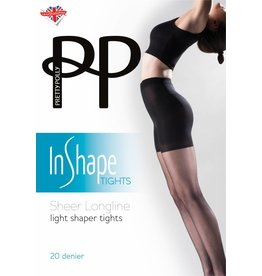 Pretty Polly Sheer Longline Bodyshaper Tights