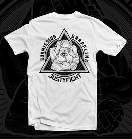 Justyfight Illuminati Submission Grappling T-Shirt