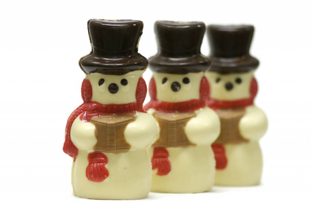Kerst sneeuwpopje