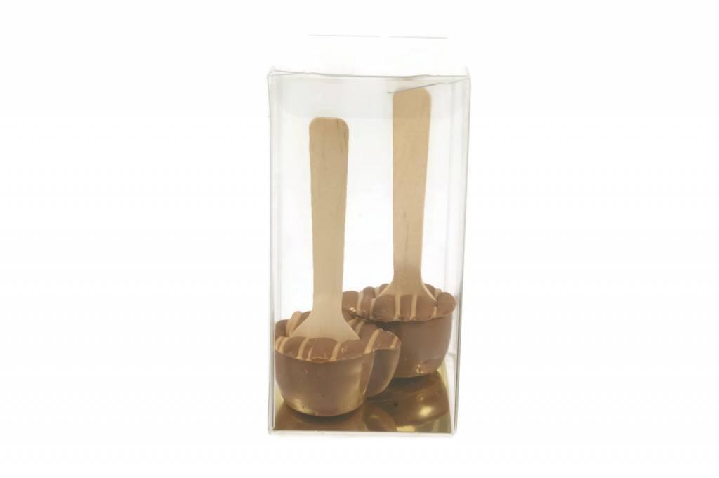 2 chococups caramel