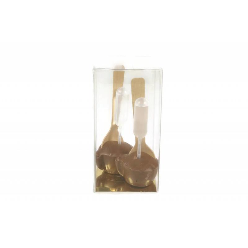 2 chococups Cointreau