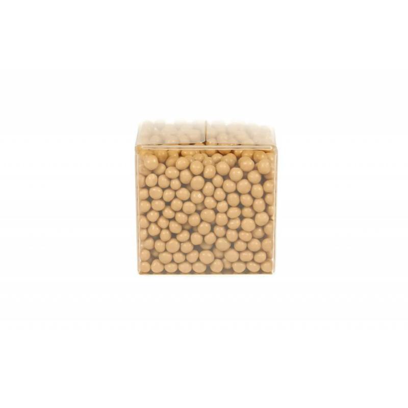 Crispy pearls caramel