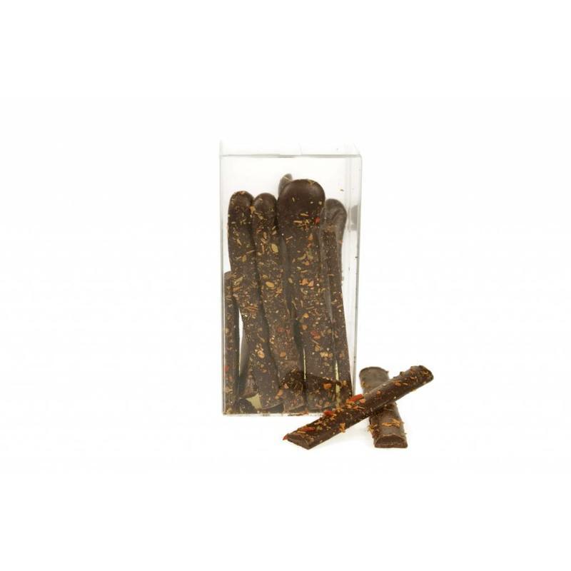 Extra pure chocolade met Italiaanse kruiden