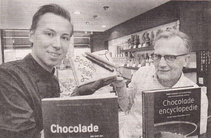 Boeken en bonbons | Pierre in het Haarlems Dagblad