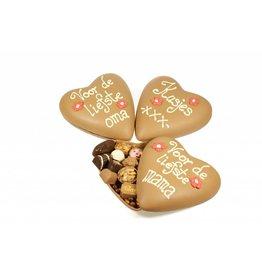 Groot moederdaghart bonbons