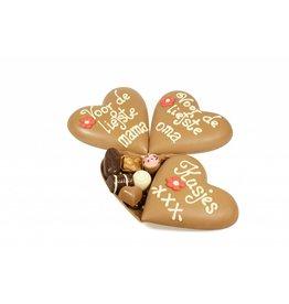 Klein moederdaghart bonbons
