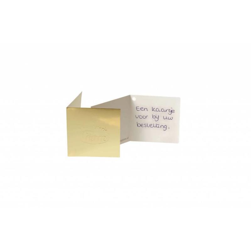 Cadeaukaartje met eigen tekst