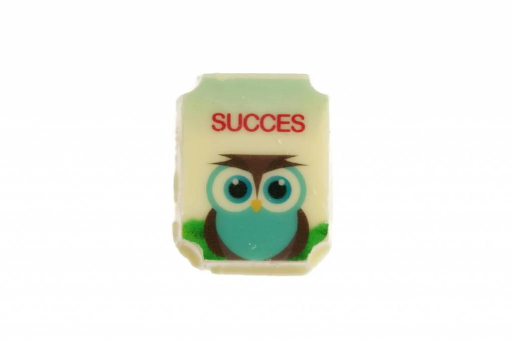 Doosje logobonbons met 'Succes'