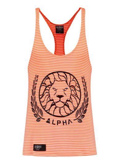 Alpha Alpha Striped Rosé size M