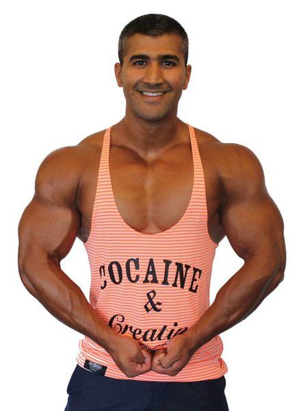Hoistwear Cocaine&Creatine Striped Rosé