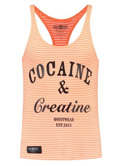Hoistwear Cocaine&Creatine Striped Rosé