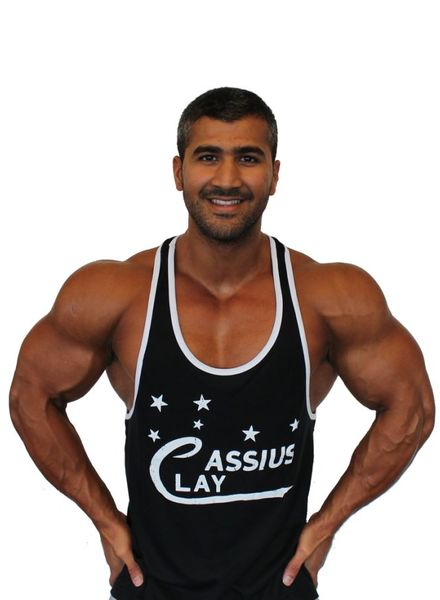 Fight Club Cassius Clay Black Tanktop size S