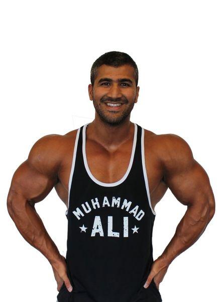 Fight Club Muhammad Ali Black Tanktop size M/XL