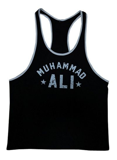 Fight Club Muhammad Ali Black Tanktop size M/XL