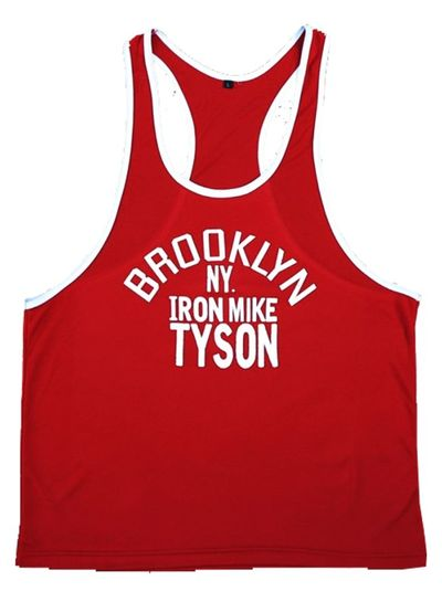 Fight Club Brooklyn Mike Red Tanktop