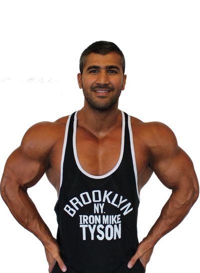 Fight Club Brooklyn Mike Black Tanktop