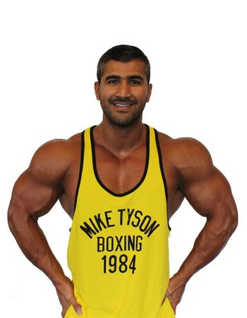 Fight Club Mike Tyson Yellow Tanktop