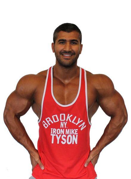 Fight Club Brooklyn Mike Red Tanktop